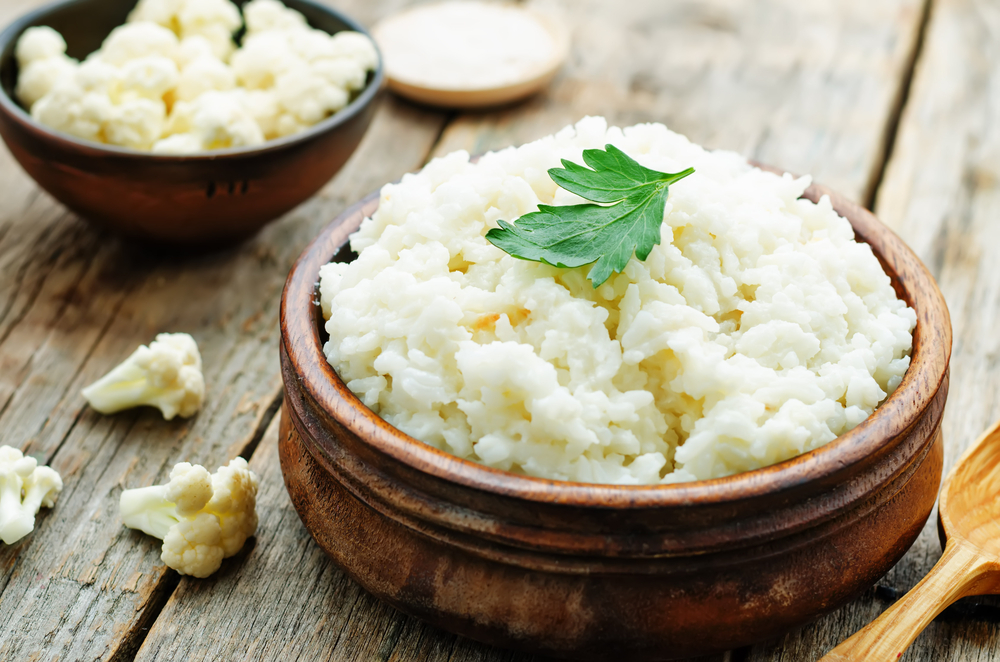 Zest some Personal Trainer Food cauliflower as a delicious rice replacement!
