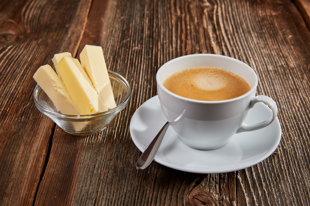 Put some butter in your coffee to lose more weight with Personal Trainer Food.