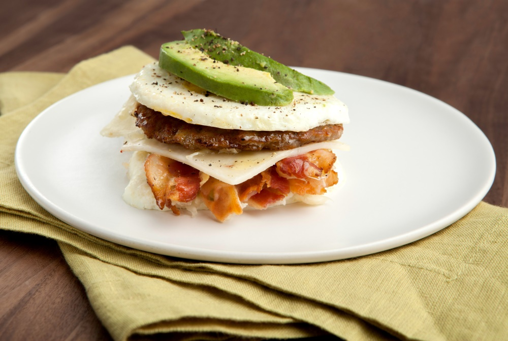 Burn more fat in the morning with this amazing breakfast sandwich and Personal Trainer Food.