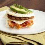 Egg Patty Breakfast Sandwich