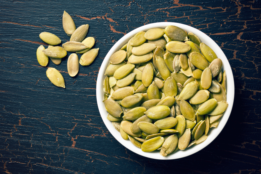 Pumpkin seeds are great healthy snacks that will help you lose weight, here are some recipe ideas from Personal Trainer Food that you can make in minutes.