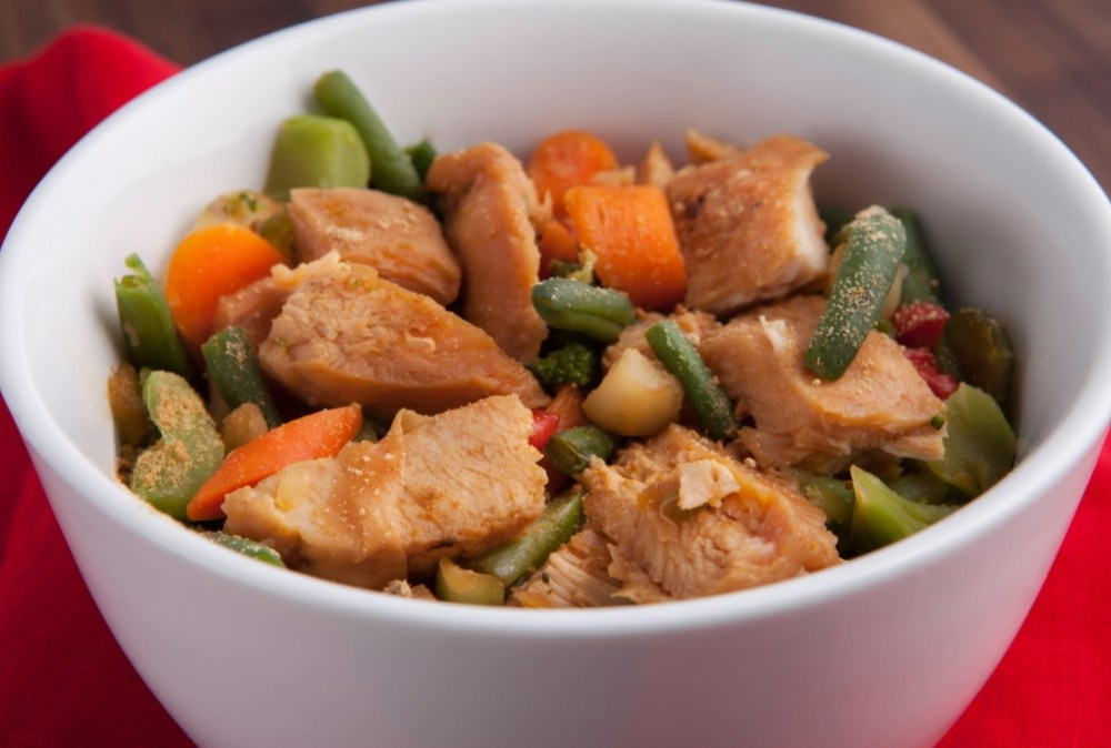 Weight loss made easy with Personal Trainer Food Chicken Stir Fry you don't have to clean the kitchen!