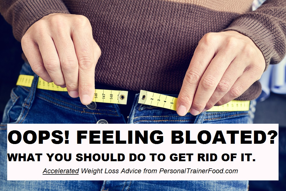 The foods you should eat, the foods you should avoid, and everything else you need to do to get rid of that bloated feeling as fast as possible.