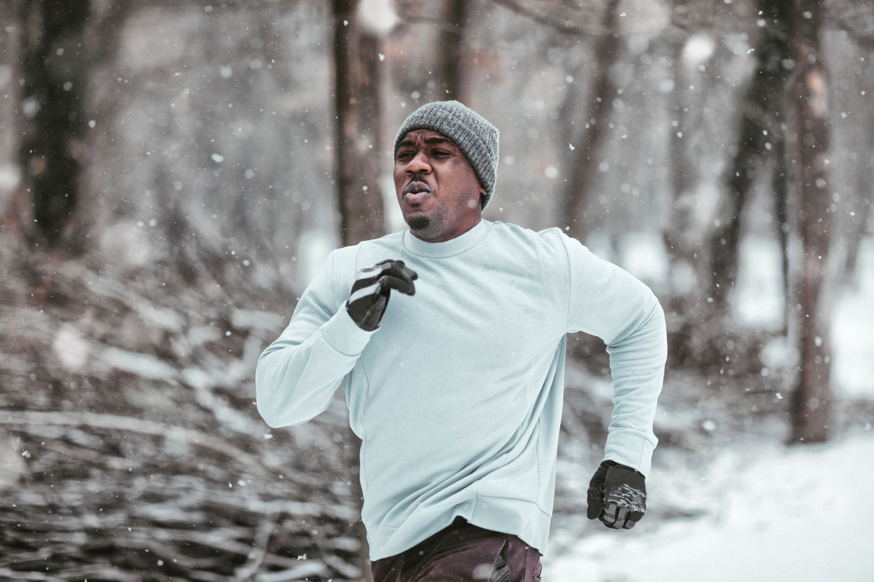 Find out how many calories you can burn in the cold weather when you do your winter workout.