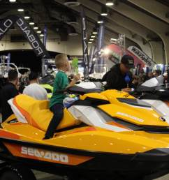 the 2019 los angeles boat show is just around the corner see all the new personal watercraft for 2019 featured vendors are yamaha waverunner sea doo  [ 1100 x 733 Pixel ]