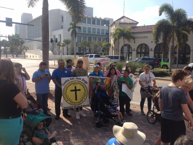 7th Annual Treasure Coast March for Life Protesting Abortion