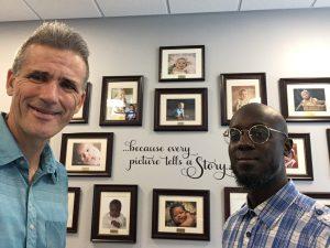 Christopher Bradley and Pastor Bryan Longworth