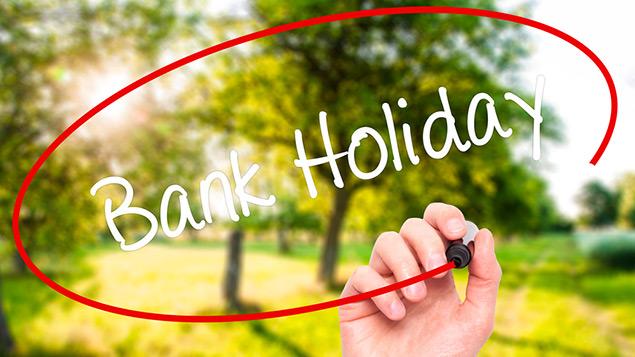 Today Bank Holiday