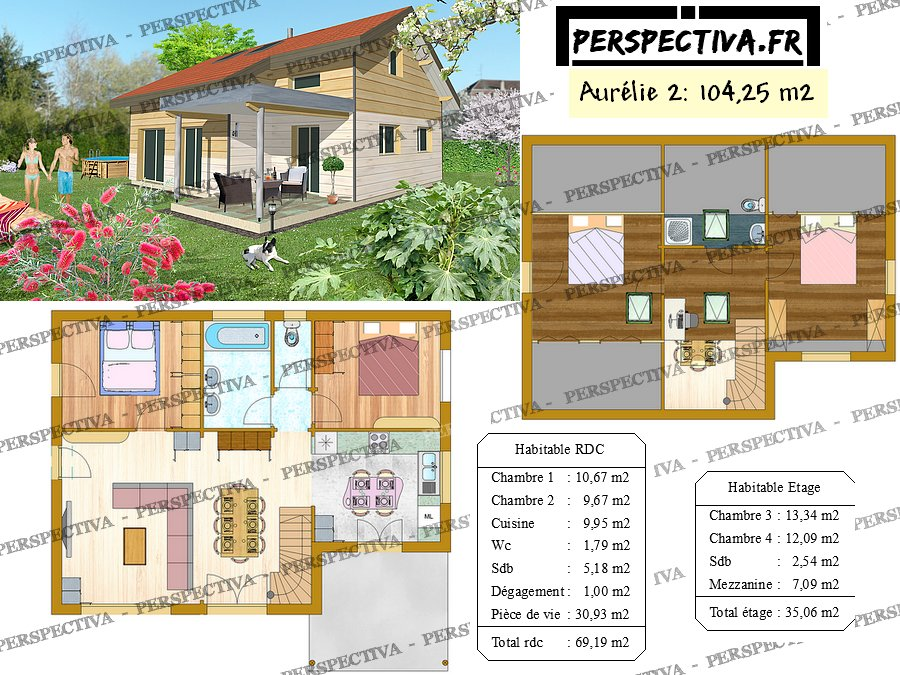 Exemple Plan Maison Moderne Finest Battement Plan Maison Images