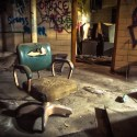 The Doctor is Out - The nurses office inside an abandoned sugar mill.