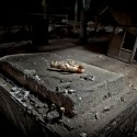 An Offering - An oddly placed, headless doll inside an abandoned sugar mill