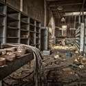 Spare Parts - The parts distribution room at an abandoned sugar mill.