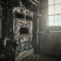Day Dreaming - The laboratories furnace has taken on a face of it's own.