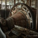 Rock-n-Roll - Rock tumbler inside an abandoned gold mine processing facility