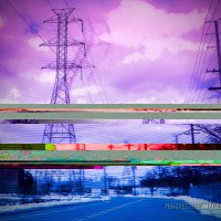 Distortion of Power - industrial glitch art