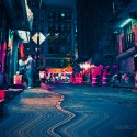Perception Adjustment - Street photography and glitch art in NYC's China Town