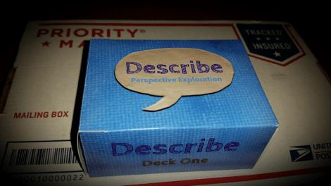 Describe - A deck of over 100 cards that increase understanding between human beings.