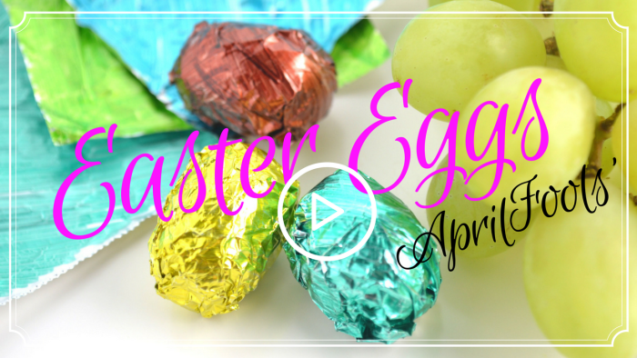 Watch this April Fools' Day Joke -Chocolate Easter Egg Swap