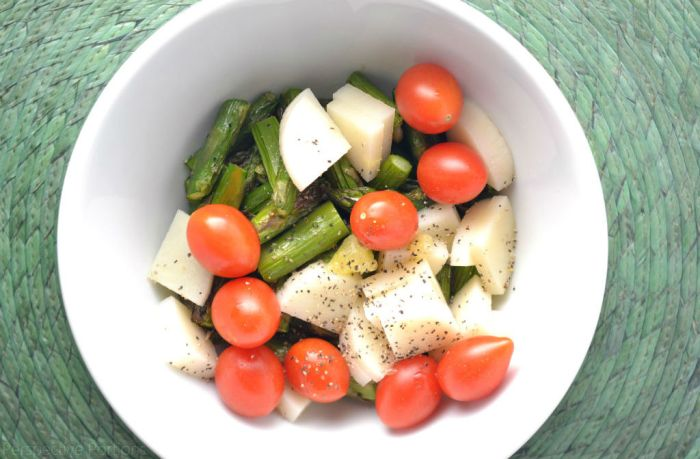 9 Passover Salad Ideas - Lemon Asparagus