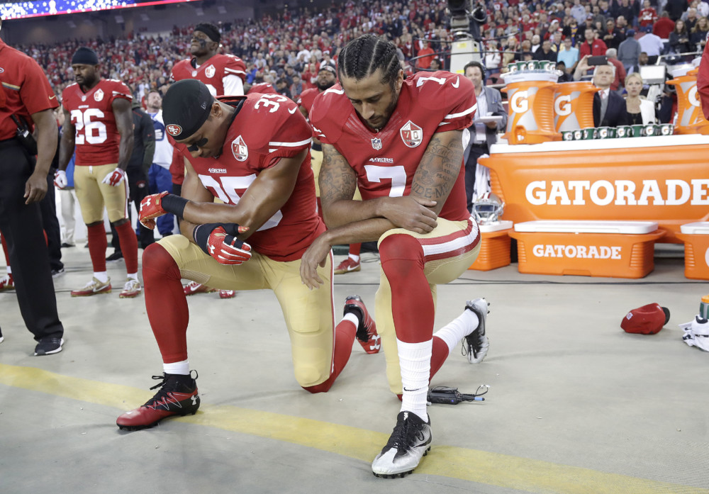 NFL Players, Please Keep Taking That Knee