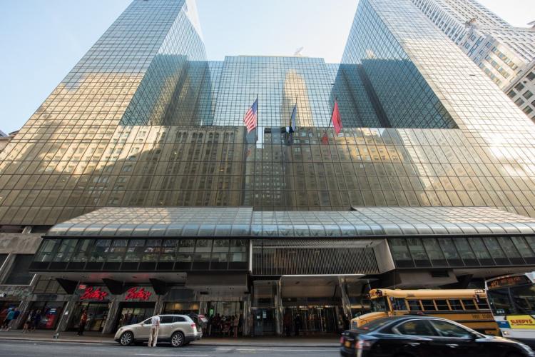 Grand Hyatt in Manhattan. Photo by the New York Daily News.