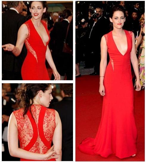 Kristen-stewart-dans-robe-rouge-dentelle-dos