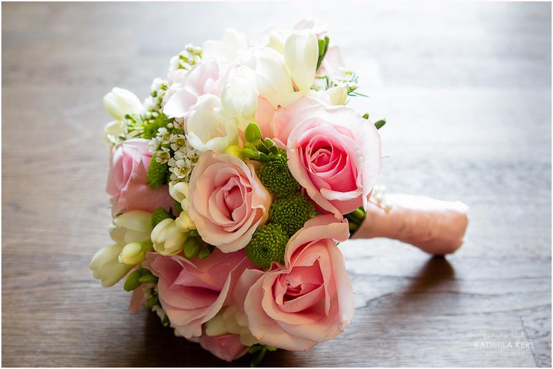 Blumenstrau  Persunkleid