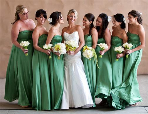 Vintage Kleider fr BrautjungfernFashion der Hochzeit