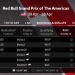 jadwal tayang Motogp America 2016 Red Bull Grand Prix of The Americas 7 Pertamax7.com