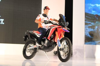 Dani Pedrosa Honda CRF250 Rally Indonesia