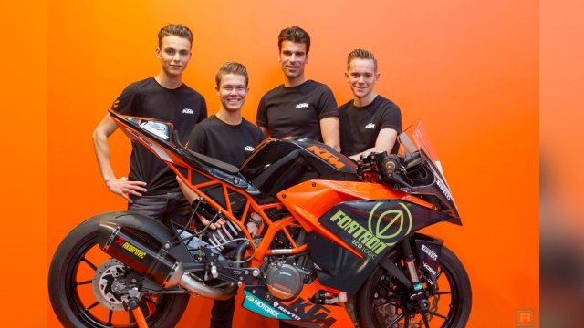 Koen Meuffels Ktm Fortron Junior Team RC390 R