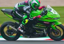 Mbak Ana Carrasco Juara Race WSSP300 Doninton Park UK