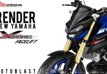 Headlamp All new Yamaha Xabre Facelift 2019