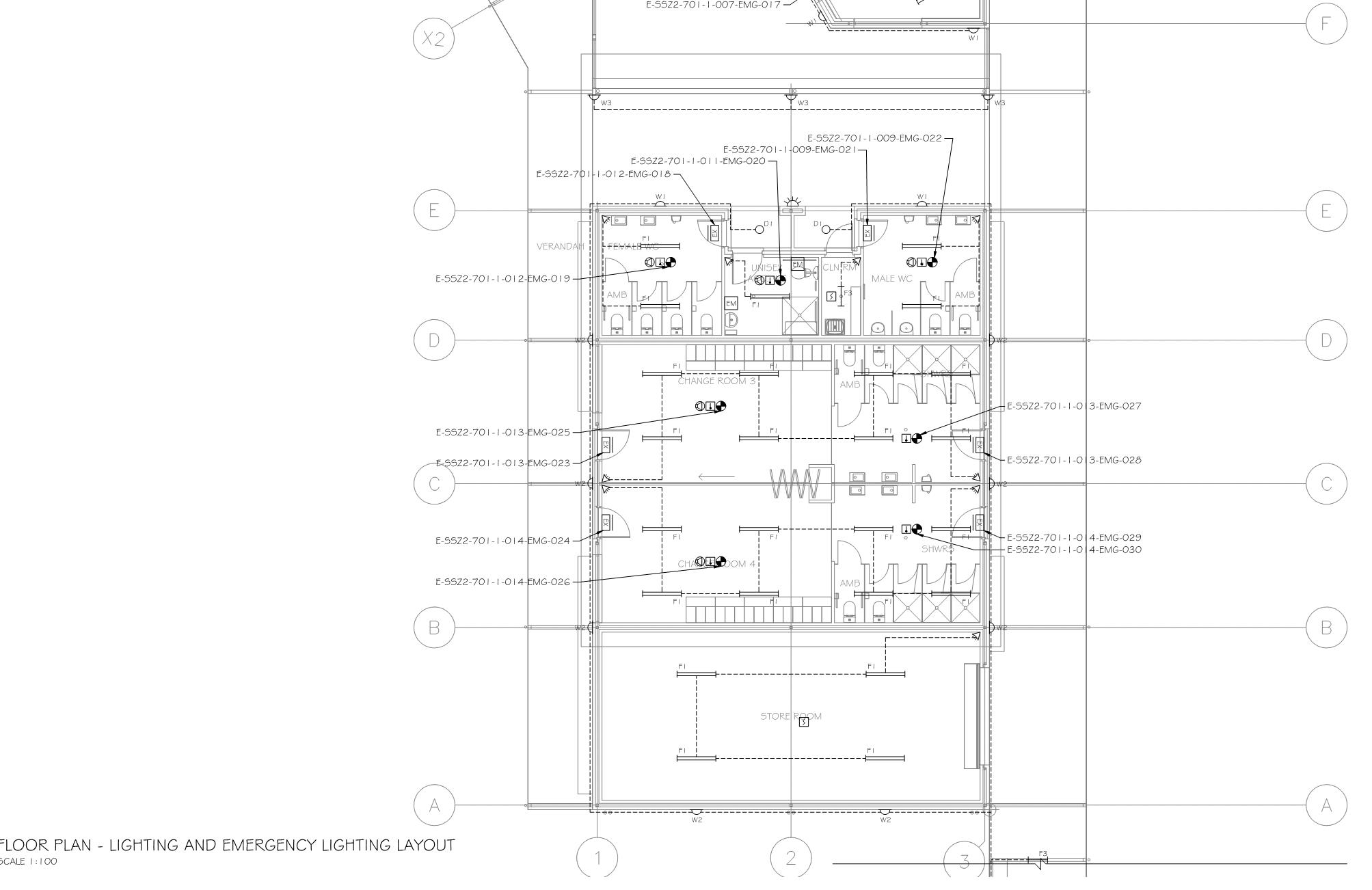 Electrical Services CAD drafting