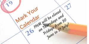 closing hours