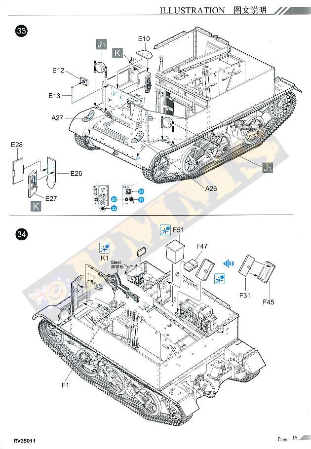 Riich Models RV35011 Universal Carrier Mk.I w/Crew