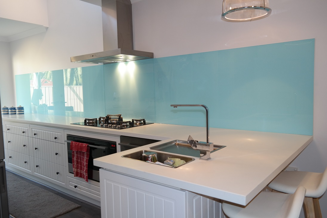 Blue Splashback Kitchen. Awesome Like Add A Comment Pin To Ideaboard ...