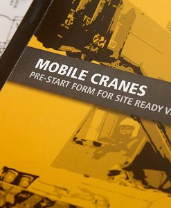 Mobile Crane Pre Start Checklist Books