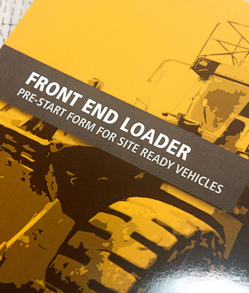 Front End Loader Pre Start Checklist Books