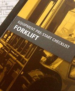 Forklift Pre Start Checklist