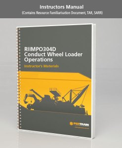 Conduct Wheel Loader Operations (RIIMPO304D)