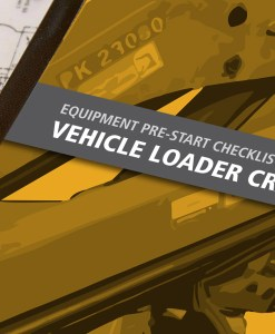 Vehicle Loading Crane Pre Start Checklist Books