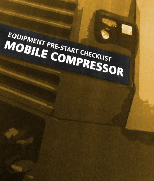Compressor Pre Start Checklist Books