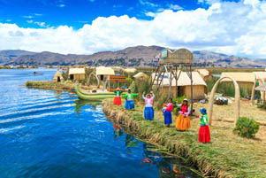Lago Titicaca  Descubre Titicaca el Lago Mas Alto Del