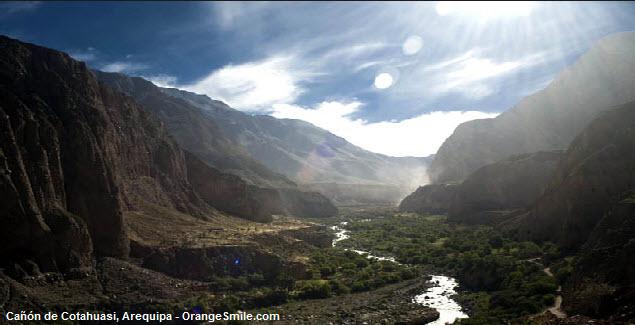 Viaje al gran Can de Cotahuasi en Arequipa