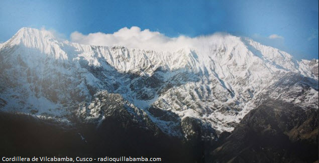La Cordillera de Vilcabamba luce sus altos nevados en Cusco