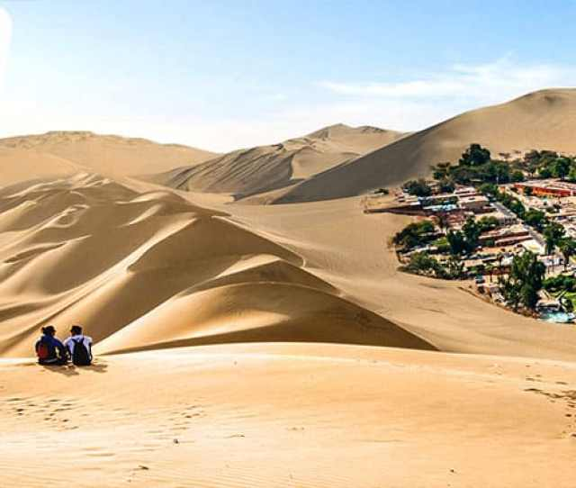 Discover Huacachina Oasis Only With Peru Hop