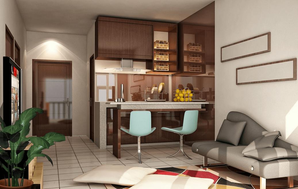 Contoh gambar desain ruangan minimalis berbagai ukuran dan gaya yang unik  Desain Rumah Perumahan