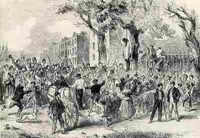 El linchamiento era usado en la antiguedad y reflejaba la ineficiencia del sistema policial