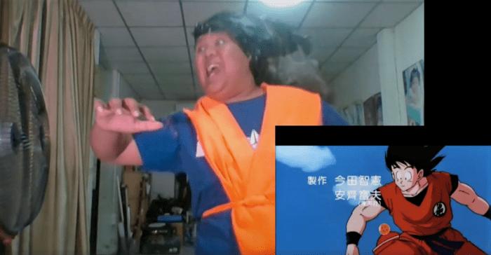 "(Video) Parodia ""cospobre"" de apertura de Dragon Ball Z es lo más extraño e hilarante que hemos visto hoy"